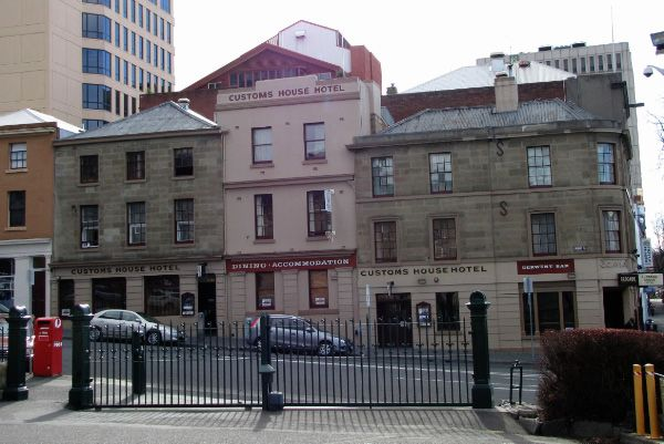 Customs House Hotel, Murray Street #Hobart. Article for www.think-tasmania.com