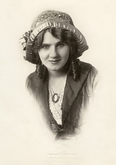 """Florence Lawrence (January 2, 1890 or 1886 – December 28, 1938) was a Canadian-American stage performer and film actress. She is often referred to as """"The First Movie Star"""", and was the first film actor to be named publicly. At the height of her fame in the 1910s, she was known as """"The Biograph Girl"""", """"The Imp Girl"""", and """"The Girl of a Thousand Faces"""". She appeared in almost 300 films for various motion picture companies."""