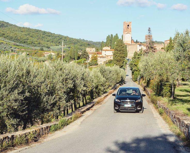 Instagrammer _bianc maakte een roadtrip door Toscane. Deel ook je roadtrip plezier op social media met de hashtag #meteenhuurautoziejemeer