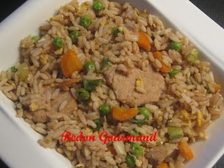 Riz brun frit au porc | Bedon Gourmand