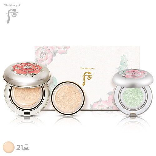 The History of Whoo Whitening & Moisture Glow Cushion Limited Special Set #21  #TheHistoryofWhoo#Whitening#CushionFoundation#limited