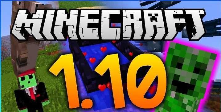 Скачать Майнкрафт 1.10 бесплатно  1.10 1.10.2