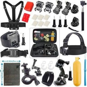 6.Top 10 Best Accessories Starter Kit for Gopro Reviews in 2016