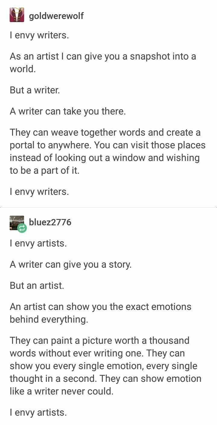 Und deshalb behaupte ich, Literatur sei Kunst, #argumentiere #deshalb … – Writing