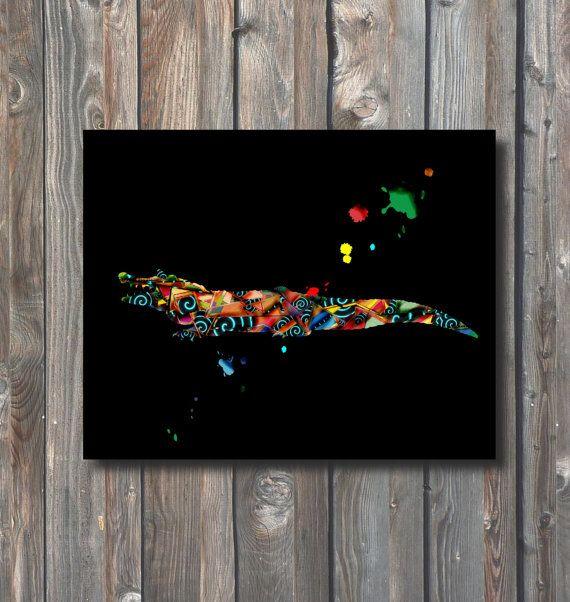 PRINTABLE Alligator Wall Art-Printable Home by HappyFiestaDesign