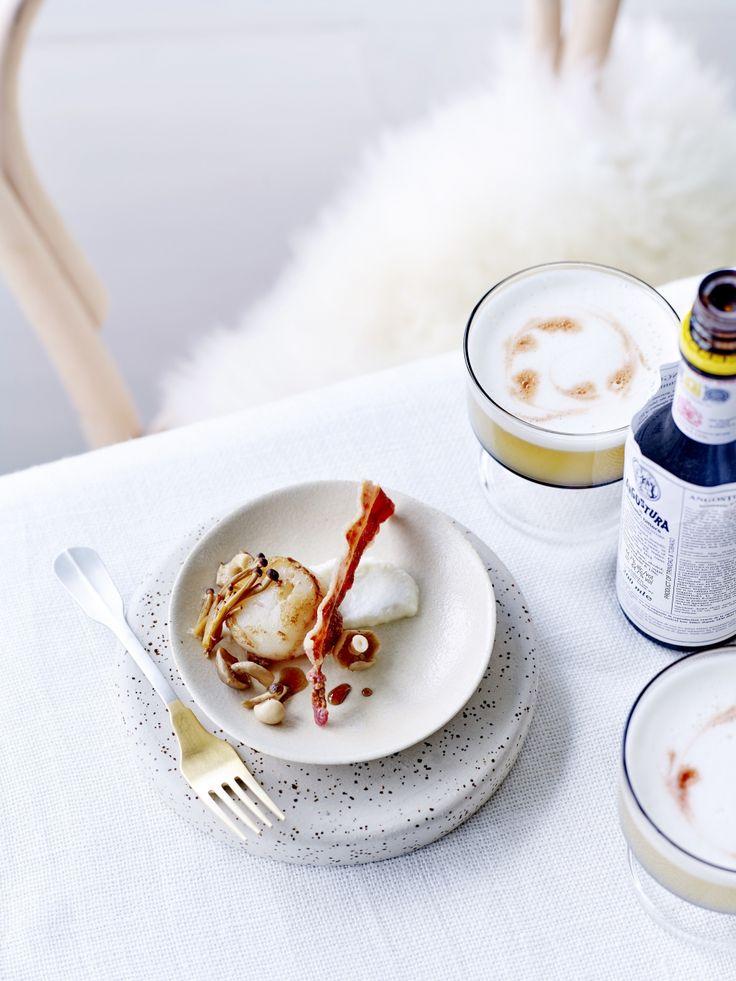 Sint-jakobsvruchten met bloemkoolpuree - Libelle Lekker