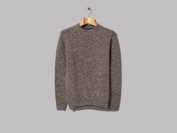 Barbour Netherby Crew Neck (Grey)