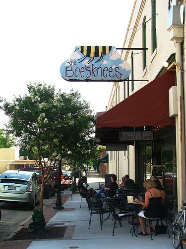 BeesKnees- Augusta, GA...One of my favorite restaurants in the city where my Katie was born...my little Georgia peach!