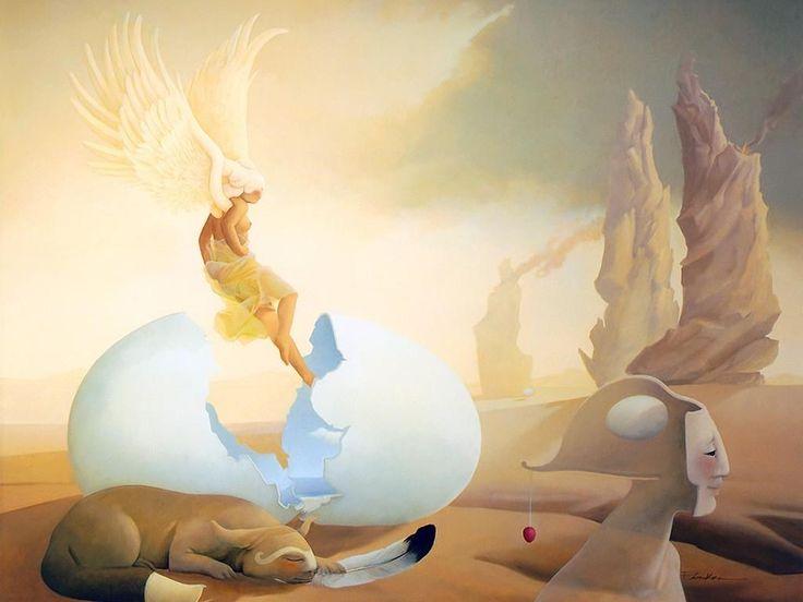 Michael Parkes - Page 4 324c4695daede1cca4e09f61eccfab4d--painting-wallpaper-magic-realism