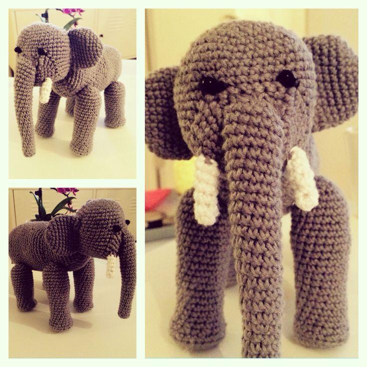 Elefant #crochet #hækling