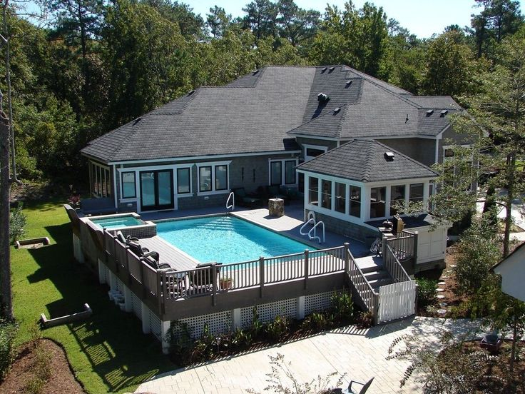 best 25+ swimming pool decks ideas on pinterest | above ground
