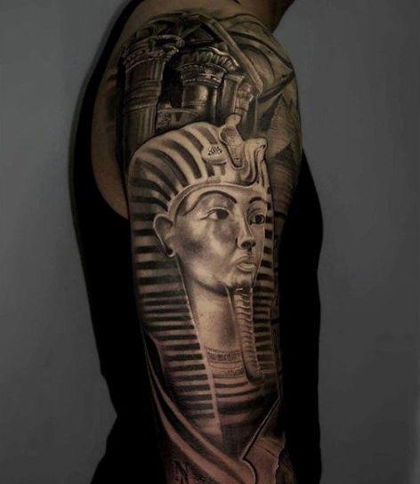 Egyptian Sphinx Tattoo For Men