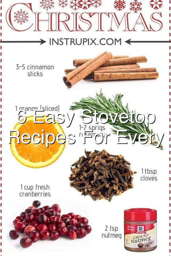 6 Easy Stovetop Potpourri Recipes For Every Season In 2020