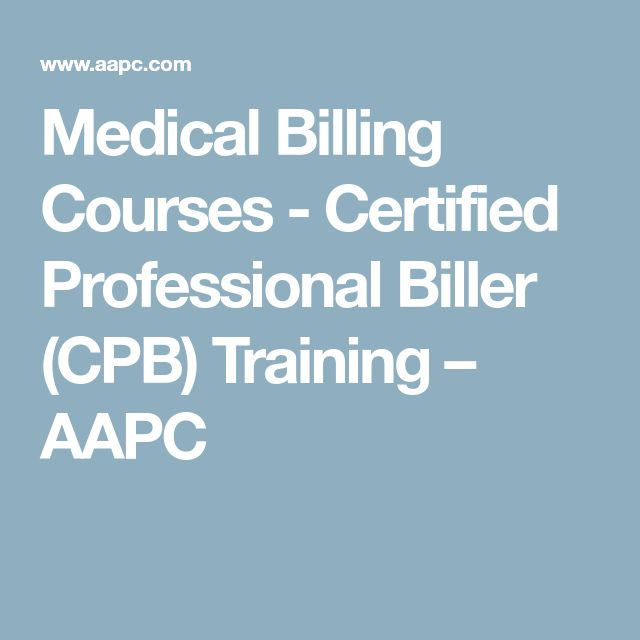 Medical Billing Courses - Certified Professional Biller (CPB) Training – AAPC