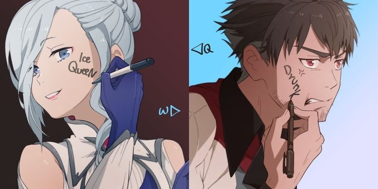 Your Name: Qrow-Winter Body Swap [zzin_RWBY] : RWBY