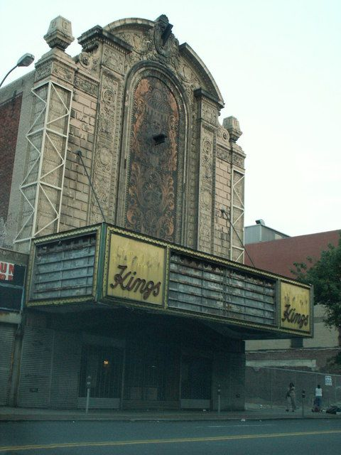 Loew's Kings Theatre in Brooklyn New York. The theater first opened on the 7th of September 1929 and closed on the 30th 1977. It was abandoned until 2010. The theater is scheduled to reopen in 2015 following a complete renovation.