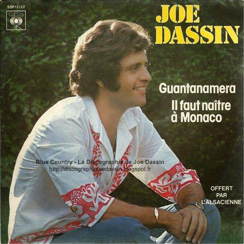 Blue Country - La Discographie de Joe Dassin: 45 RPM - CBS SSP 12122 - 1979 - Guantanamera - Il ...