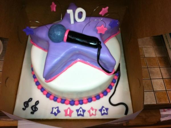 rock star cake