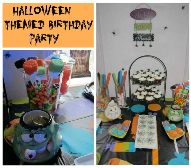 Best 25+ Halloween Theme Birthday Ideas On Pinterest