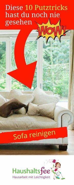 sofa sauber machen mit natron hausidee. Black Bedroom Furniture Sets. Home Design Ideas