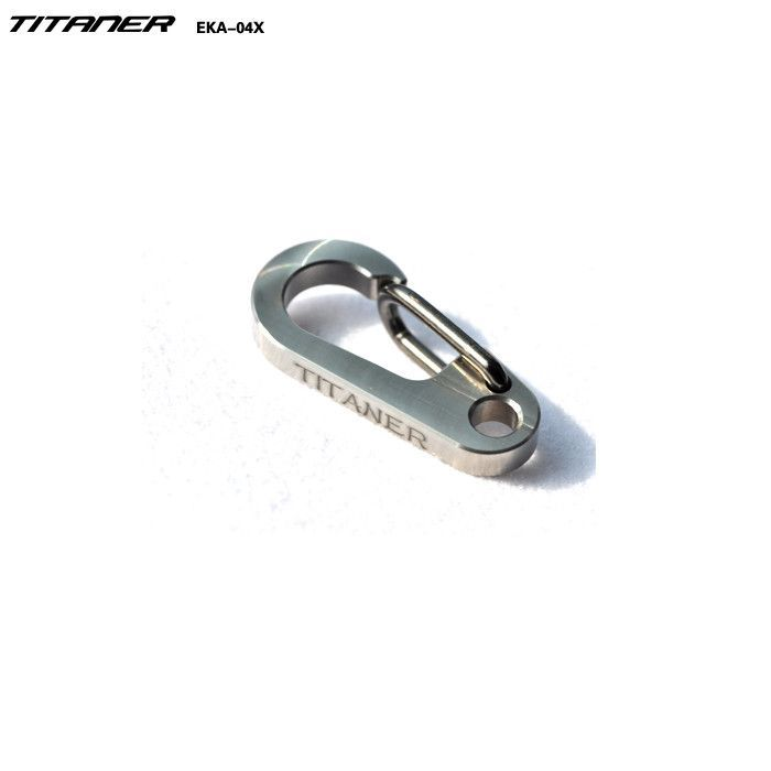 Titanium Keychain L: 25 mm W: 12.1 mm Thickness: 3 mm Weight: 2.8g Packing: 1PC/bag