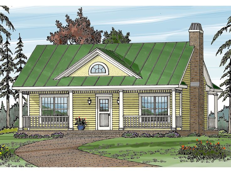 Cherrydale Victorian Home From Houseplansandmore Cottage Floor PlansHome PlansSmall