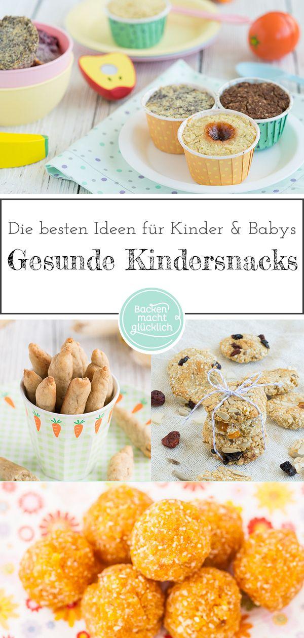 Die besten gesunden Snacks für Kinder und Babys