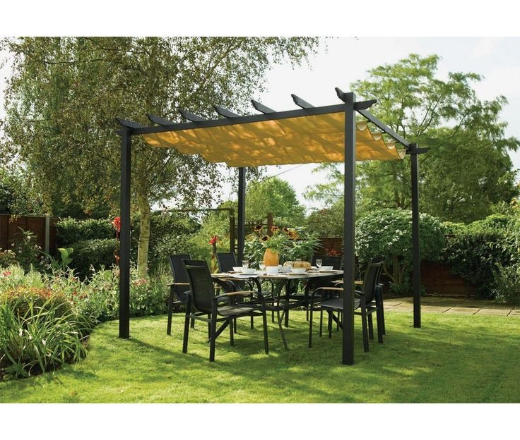 17 best ideas about gazebo canopy on pinterest curtain wire wire covers and deck with pergola - Tent tuin pergola ...