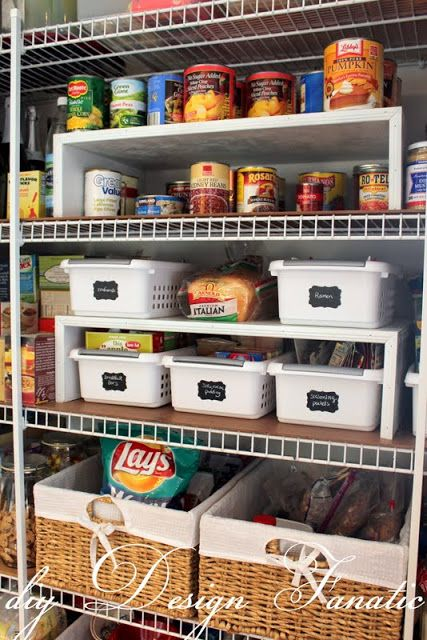 17 Best Images About Organized Pantries On Pinterest In
