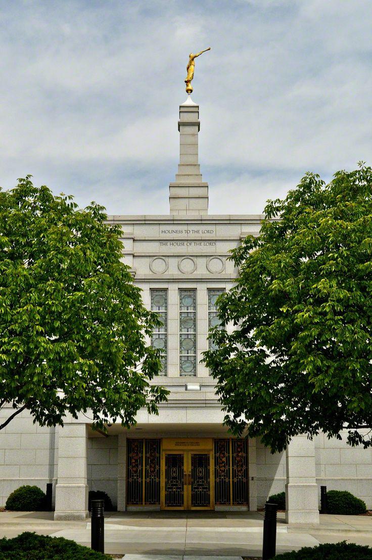 Winter Quarters Nebraska Temple. #LDS #Mormon