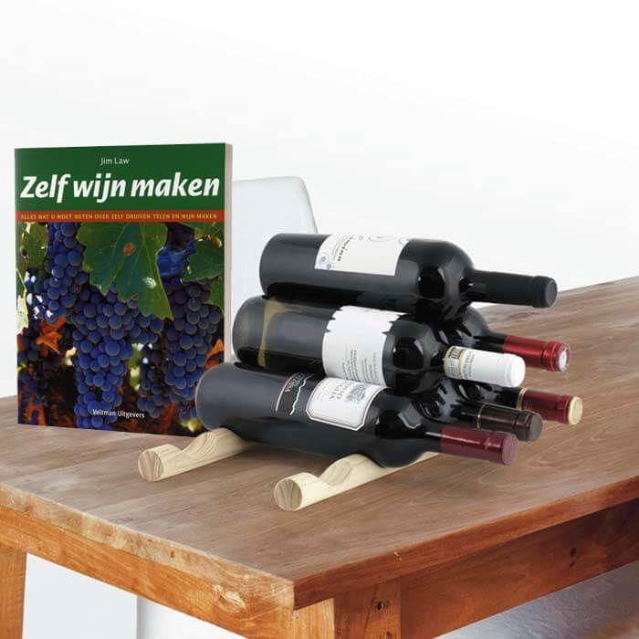 Kerst cadeau ideeën| Zelf wijn maken cadeaupakket (2 delig)