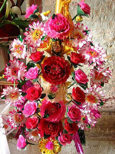 Vela de concha Mexico Fiesta