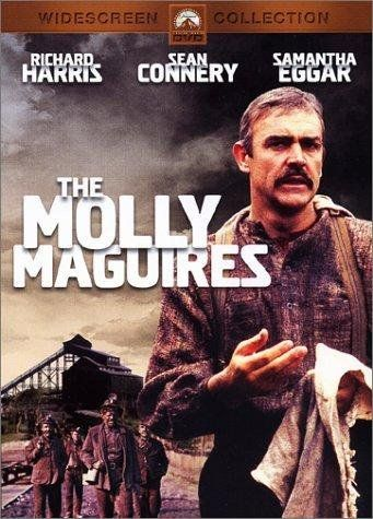 The Molly Maguires (1970), coal mines of 1876 Pennsylvania. A secret group of Irish emigrant miners, known as the Molly Maguires, fights against the cruelty of the mining company