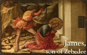 Картинки по запросу James, son of Zebedee