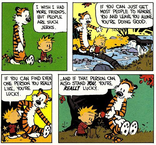 Calvin and Hobbes