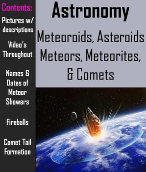 17 Best images about Comets, Asteroids, Meteors on ...