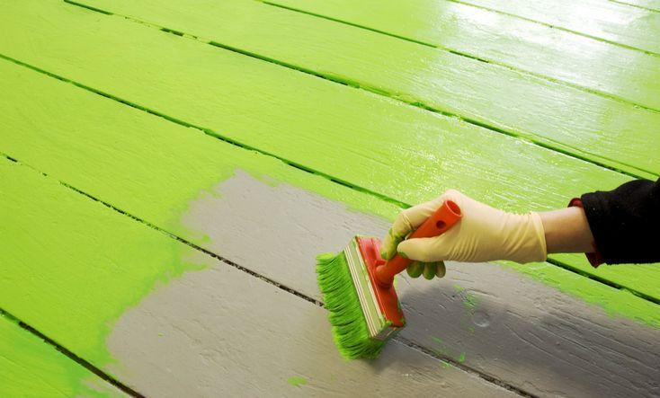 Cómo pintar los pisos de madera