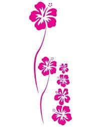 R sultat de recherche d 39 images pour dessin hibiscus - Dessin d hibiscus ...