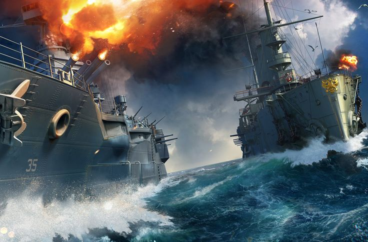 World of Warships - the free to play online multiplayer pc game about battleships, become part of the WoWS American community