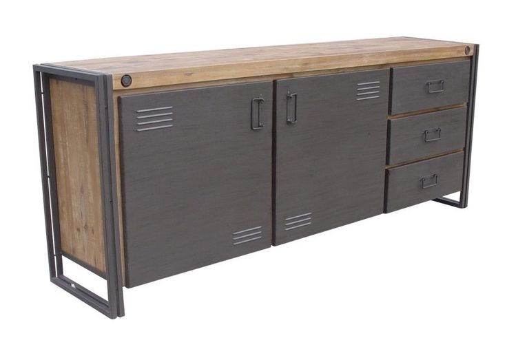 Industrial dressoir