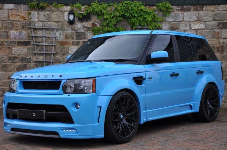 Range Rover Sport Bespoke GTS-R Sport #bespoke #widebody #rangerover