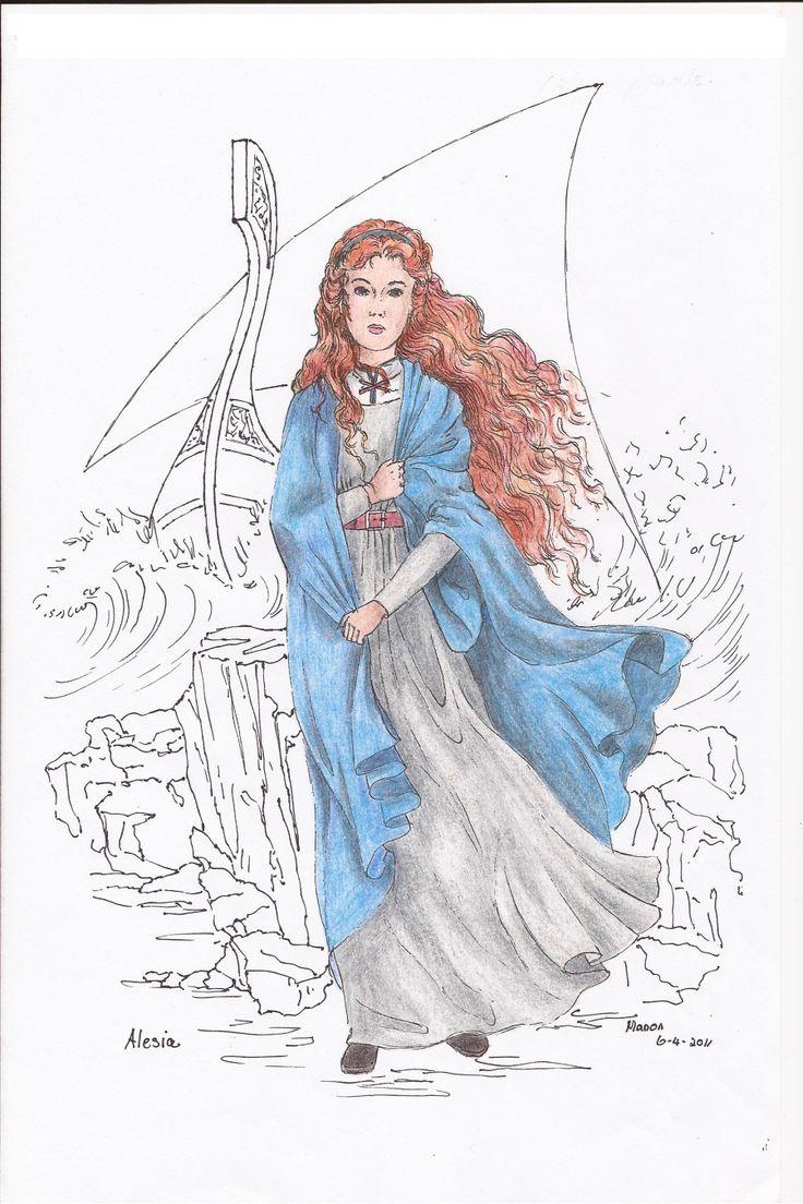 Alesia, from the book SIRION by Ivano Massari. http://www.gypsyshadow.com/IvanoMassari.html#top