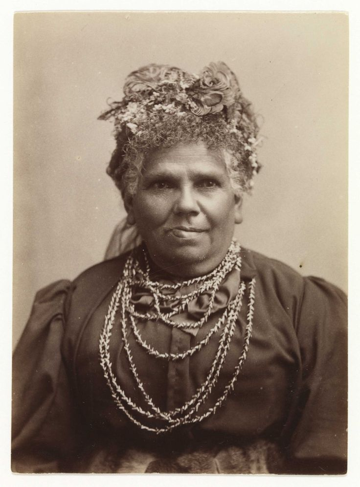 Fanny Cochrane Smith (1834-1905) full-blood Tasmanian Aboriginal; the last fluent speaker of a Tasmanian language, and her 1903 wax cylinder recordings of songs are the only audio recordings of any of Tasmania's indigenous languages