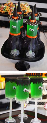 Halloween push-up pops (how to)