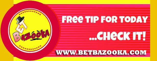 Free tip for today is posted on website. Check it!  www.betbazooka.com   #bet #bets #betting #football #futbol #soccer #sport #gamble #gambling #sportsgambling #sportsbet #sportbook #handicap #handicapping #odds #game #match #money
