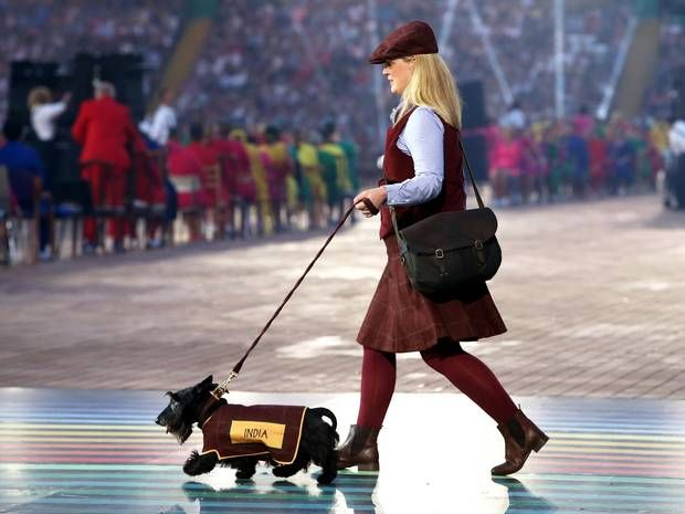 Commonwealth Games 2014: Highland terriers stole the show at the opening ceremony...... http://www.starcelebritynoise.com/lifestyle.php
