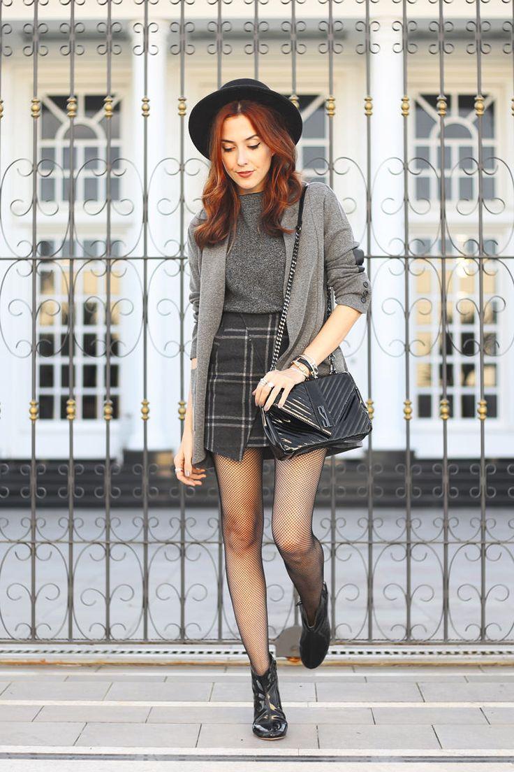 Look de Outono com Bota de Verniz | FashionCoolture