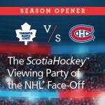 WANNA COME TO THE NHL SEASON OPENER PARTY? BE MY GUESTS! #hockey #hockeymom