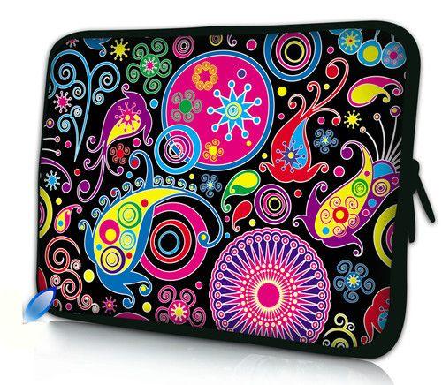 "Colorful 12""  Laptop Soft Neoprene Sleeve Bag Case For Samsung Google 11.6"" Chromebook,11.6"" Acer Aspire One,Macbook Air #Affiliate"