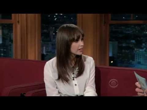 Felicity Jones on The Late Late Show with Craig Ferguson (12/21/2011) - http://maxblog.com/3772/felicity-jones-on-the-late-late-show-with-craig-ferguson-12212011/